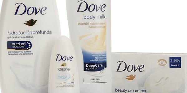 dove set de ducha gel hidratante jabon locion corporal y desodorante unisex