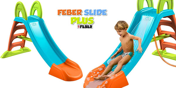 feber slide plus tobogan infantil barato