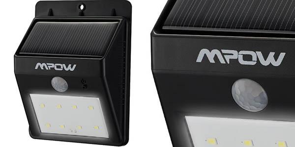 Foco LED Solar con sensor de movimiento Mpow