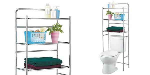 funcional estanteria almacenaje para wc barata