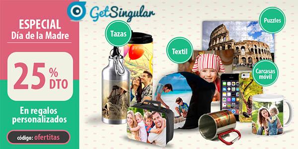 getsingular regalos personalizados promocion dia de la madre 2016 con cupon descuento