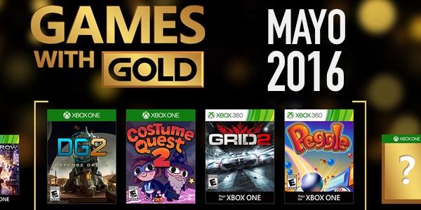 Juegos con Gold mayo 2016