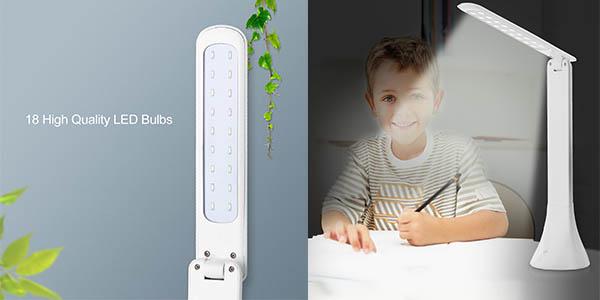 lampara led para escritorio orientable y barata