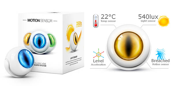 Fibaro motionsensor z-wave