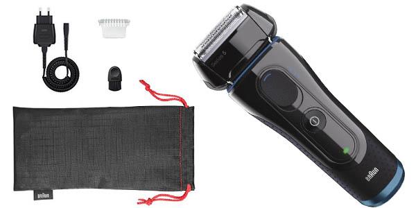 maquina afeitar electrica braun series 5 con accesorios a precio brutal