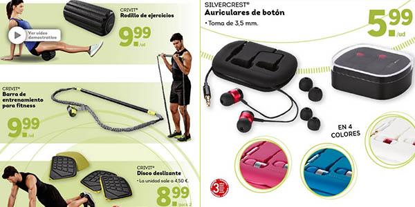 maquinas y gadgets de fitness y musculacion en lidl a precios brutales