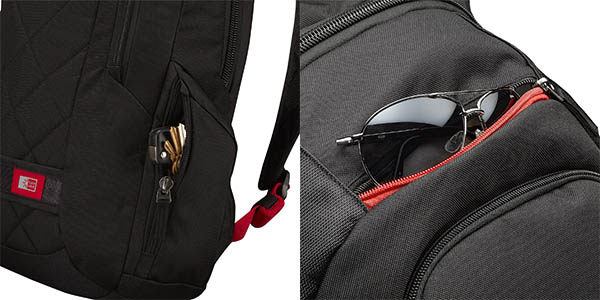 Case Logic DLBP114G bolsillos accesorios