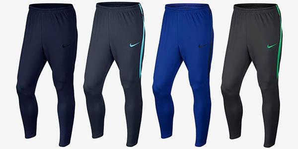 nike pantalones de futbol baratos en varios colores
