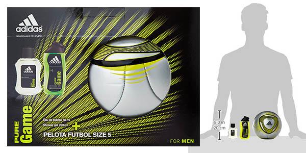 oferta adidas pure game set de 3 piezas perfume para hombre