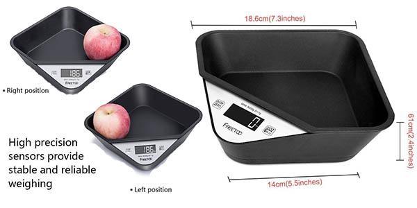 oferta bascula compacta para alimentos