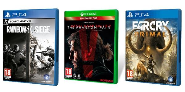 Ofertas juegos PS4 y Xbox One Fnac Abril 2016