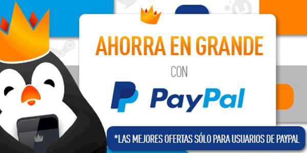 Ofertas Kinguin PayPal 1 abril 2016