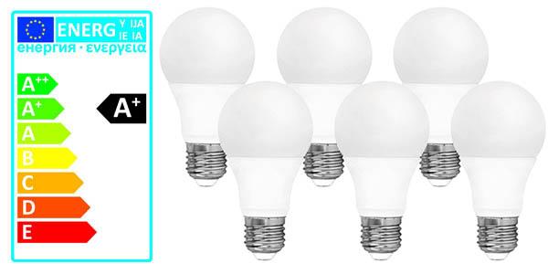 pack de 6 bombillas LED Davled E27 10W