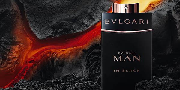 perfume para hombre bvlgari man in black citrico y amaderado