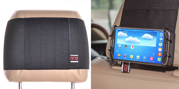practico soporte para movil y tableta para ver peliculas en el coche