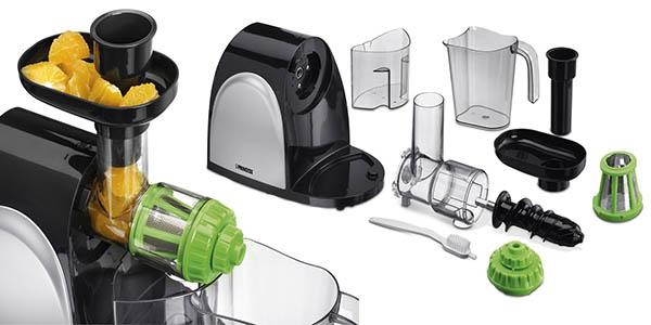 princess maquina con accesorios para zumos y batidos nutritivos