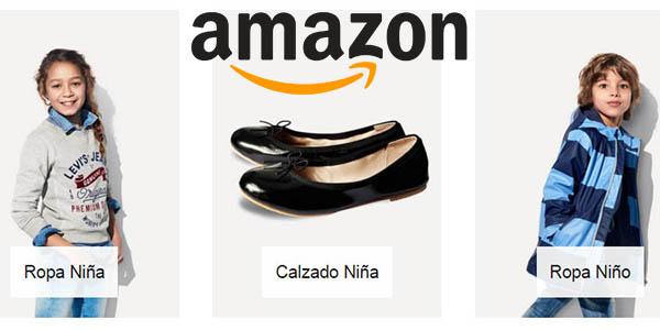ropa y calzado infantil con descuentos en amazon