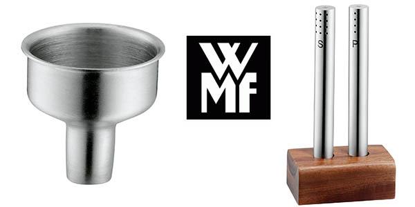 salpimentero wmf barato de diseño en madera y acero inoxidable