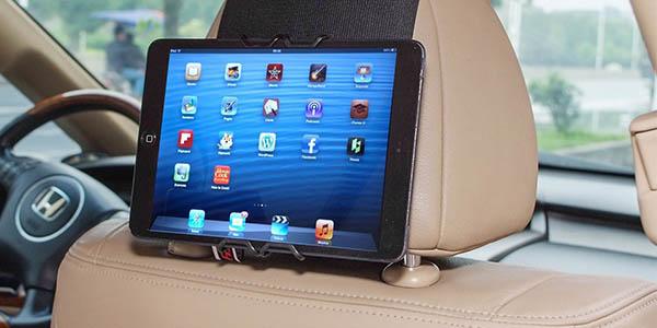 soporte barato bpara tablets y smartphones para el reposacabezas del coche