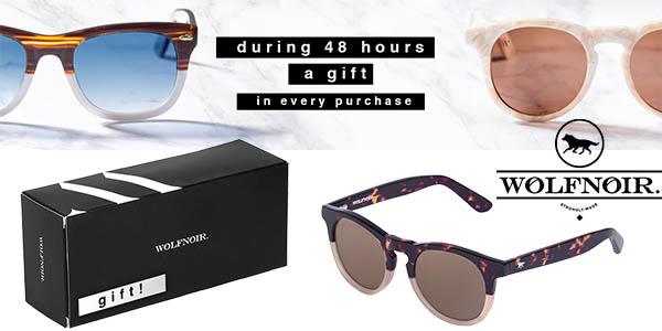 promocion wolfnoir gafas de regalo en cada pedido abril 2016