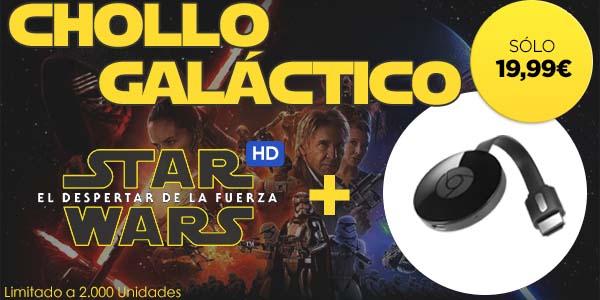 Chromecast 2 + Star Wars VII en Wuaki TV