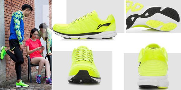 zapatillas li-ning tecnologia bluetooh app para movil xiaomi a precio brutal