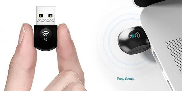 Adaptador USB WiFi Dodocool barato
