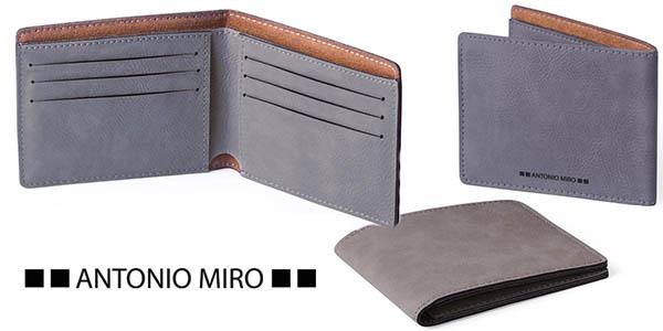 Antonio Miró cartera de piel hombre barata
