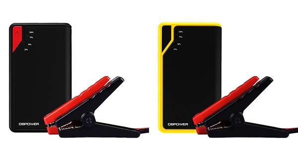 Colores Arrancador de puente para coche y cargador USB portátil DBPOWER Jump Starter 8000mAh