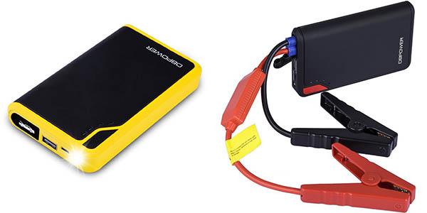 Arrancador de puente y cargador USB DBPower
