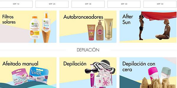bronceadores cremas maquillaje de primeras marcas amazon verano
