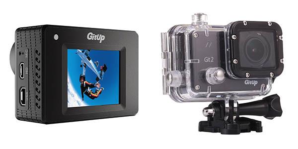 Pantalla cámara deportiva GitUp Git 2 2K WiFi