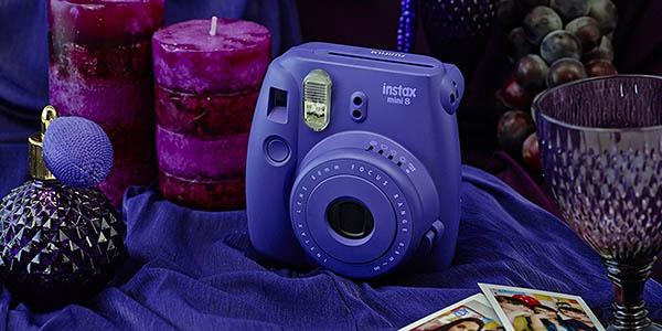 Cámara Fujifilm Instax Mini 8 Morada
