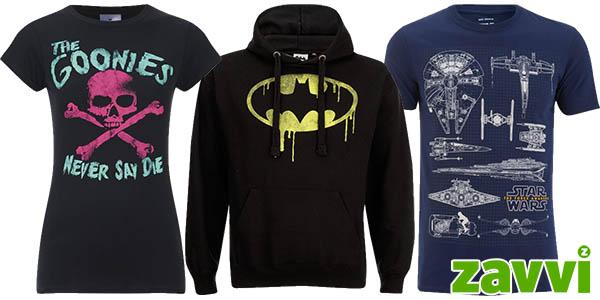Camisetas y sudaderas geeks en Zavvi