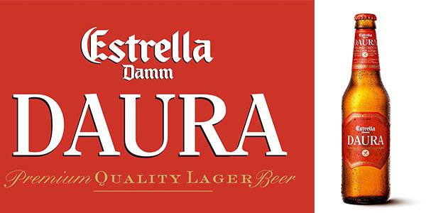 cerveza estrella damm daura 33cl botella barata