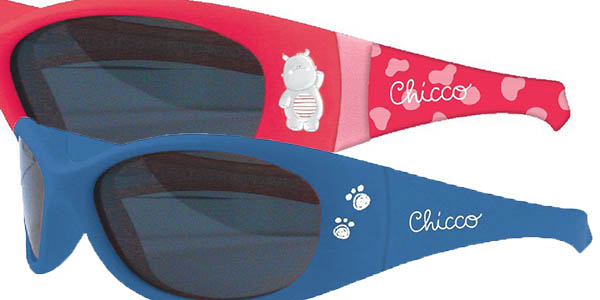 chicco gafas de sol para niños resistentes hipoalergénicas y con patillas flexibles