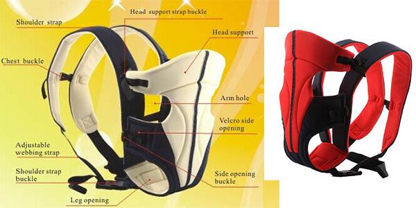 comoda y funcional mochila portabebes con relacion calidad precio buena