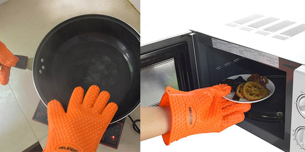 guantes para horno antiquemaduras baratos