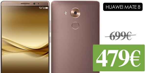 Huawei Mate 8 libre barato