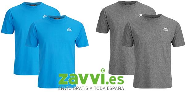 kappa pack de 4 camisetas baratas promocion zavvi mayo 2016