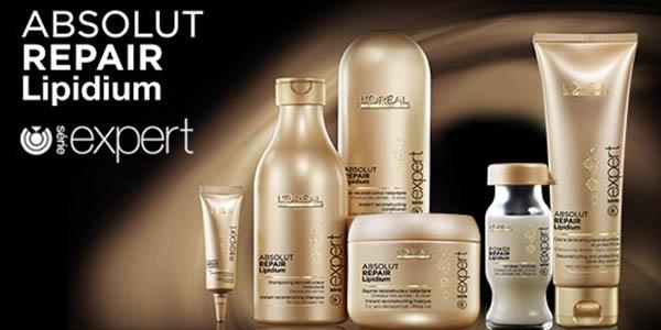 linea loreal professionel expert lipidium productos para el cabello dañado