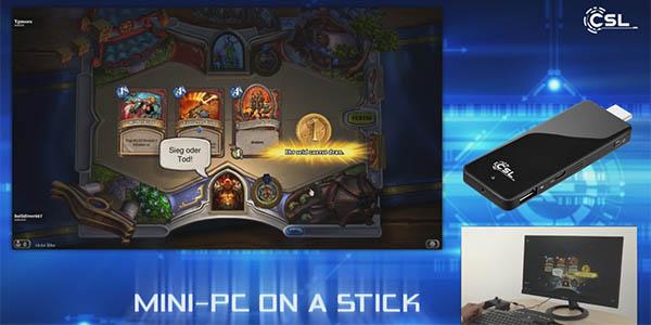 Juegos en el micro PC CSL