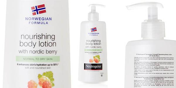 neutrogena body milk precio brutal