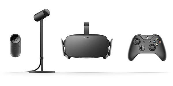 Contenido del pack Oculus Rift