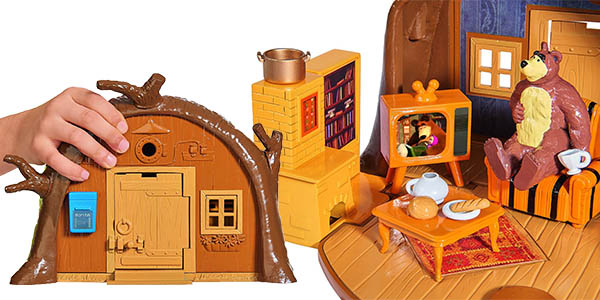 oferta juguete serie masha y el oso divertido para más de 3 años