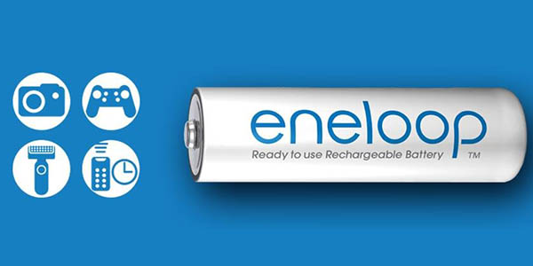 Pilas recargables Eneloop AAA 750 mAh