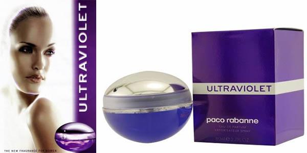 paco rabanne ultraviolet perfume en 80 ml 50 ml y 30-ml con vaporizador