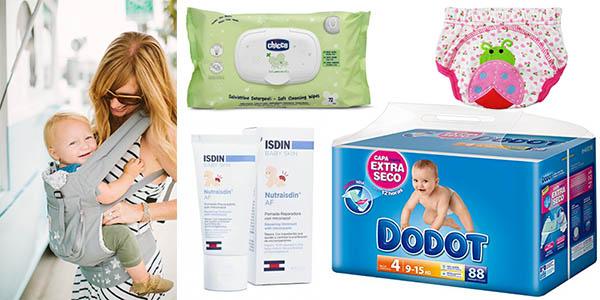 pañales toallitas húmedas cambiadores cremas hidratantes para bebes rebajados en amazon