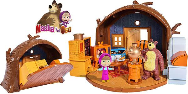 playset masha y el oso casa con figuras y accesorios barata