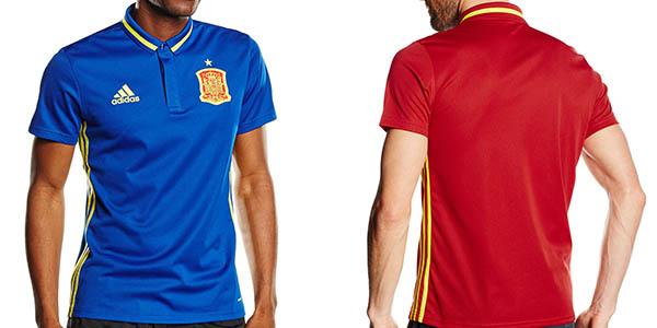 Polo Selección Española en color azul o rojo